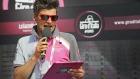 Paolo Mei, speaker ufficiale del Giro!