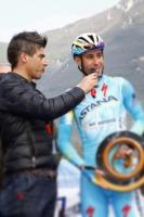 Consegna del Premio Sport a Vincenzo Nibali