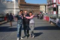 In compagnia del Dj Marco Cavallo e di Francesco Randazzo