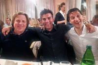 1° Paolo Mei, 2° Eugenio Berzin, 3° Michele Bartoli... che podio!