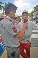 Con noi anche il ciclocrossista Marco Aurelio Fontana