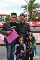Con Raffaele Illiano e famiglia
