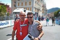 Con Paolo Caramellino