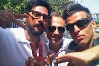 Con DJ Max Lietta e Francesco Randazzo